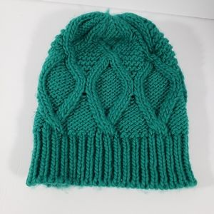 Mossimo Cable Knit Beanie in Emerald